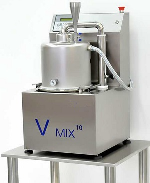 Turbo vacuum emulsifier 10 lit ECONOMIC V-mix10