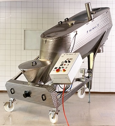 Mixer for flour and powder products
