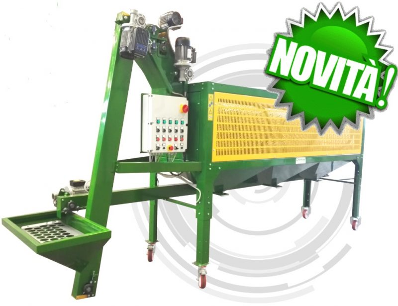 Hazelnut Cleaning Machine P300