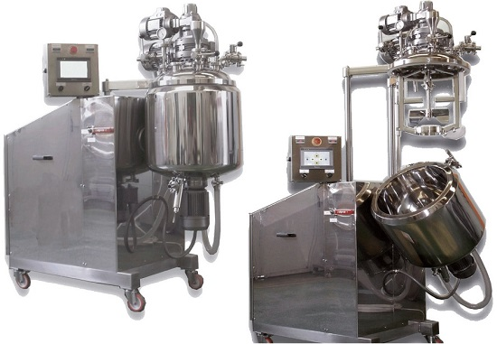 Mixer turboemulsifier vacuum model:MONO