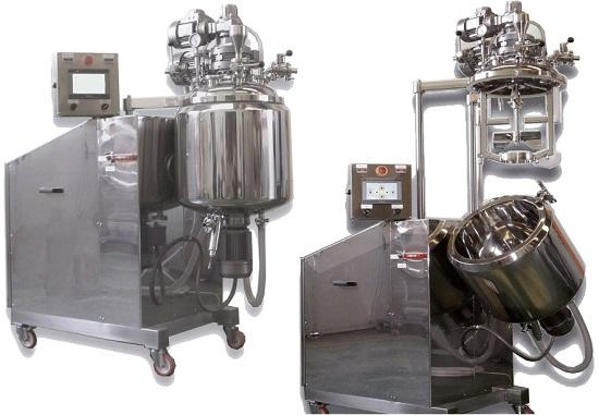 Mixer turboemulsifier vacuum model:MONO